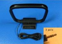 antenna poles - Mini AM Loop Antenna mm Pole Plug For Radio Audio Tuner Home System Ship Tracking