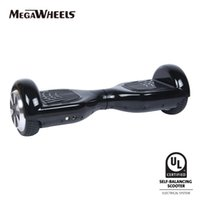 Wholesale US Stock MegaWheels TW01s quot Two Wheels UL2272 Certified Electric Self Balancing Scooter Hoverbaord Skateboard Samsung Battery