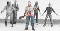 Venta al por mayor- 1/35 escala bioquímicos zombi 6 personas Resina modelo figura Kit de envío gratis