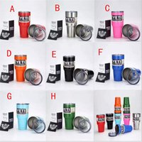 Wholesale Yeti Coolers Cup oz Yeti Sports Mugs Large Capacity Stainless Steel Travel Mug colors in stock