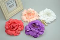 Enfants Accessoires Cheveux filles fleurs perles princesse épingle à cheveux enfants fleurs broche clips coréen style filles fleurs accessoires A