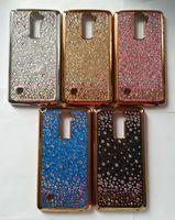 Wholesale Defender Starry Glitter Rhinestone TPU Case for LG K20 Plus Zmax Pro Z981 Prestige Samsung On5 J3 Prime J7 Sky Pro Perx S8 Stylus Aristo