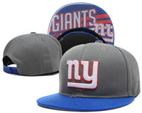 Wholesale new New York Baseball Caps Snapback Cool Letters Giants Hip Hop Street Caps Cheap Team Football Hats for Men Women