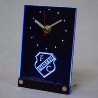 Wholesale tnc1007 FC Utrecht Football Club Eredivisie D LED Table Desk Clock