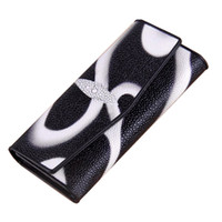 animal id - Fashion PU Leather Wallet Trifold wallet with Credit Card ID Card Holder Money Clip for Lady