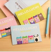 Wholesale Cartoon Bookmarks tab sign Magnetic bookmark pieces