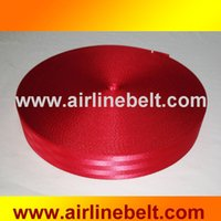 Wholesale belt puncher meter ROLL mm wide seat belt safety belt WEBBING red colors available for two car