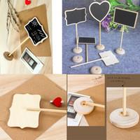 Wholesale 18 CM Creative gifts small blackboard blackboard Mini children s message board decoration price vertical seat