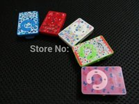 Wholesale MP3 music Player with card slot with earphone usb cable