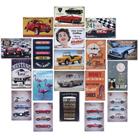 Wholesale 20x30cm ReproductionTin Plaques Metal Sign Wall Poster Cafe Bar Pub Home Slogan Plaque Decoration Vintage Style Metal Painting