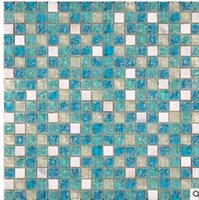Wholesale The ice crystal mosaic high gold imitation natural stone wall entrance pillars mosaic tile waist bag