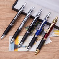 ballpoint pen manufacturers - Manufacturers spot direct metal ball pen advertising gift pen press triangle metal pen