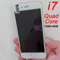 Wholesale Goophone i7 inch clone phone GB GB Quad Core Android G Smartphone Show GB RAM GB ROM Octa Core G Lte bit Cell phones