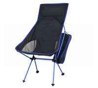 Wholesale Portable Ultralight Collapsible Moon Leisure Camping Chair with Bag for Outdoor Hiking Travel Picnic BBQ Beach Fishing