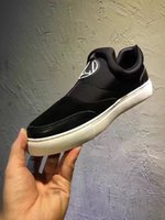 b w design - 2016 high quality summer fall mens Patchwork luxury design Genuine suede Leather w Stretch fabric low top slip on fashion sneakers