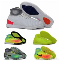 Wholesale Men New Original soccer cleats soccer shoes boots soccer MagistaX Proximo II IC soccer boot mens Indoor football boots best quality