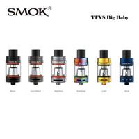 Wholesale Authentic Smok TFV8 Big Baby Tank ml Top refill system SmokTech Cloud Beast Atomizer Fit G PRIV W Box Mod