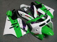 Carrosserie en ABS antidémarrage pour Kawasaki ZX-9R 1994-1997 ZX9R 94 95 96 97 vert blanc Kit de carrosserie de moto