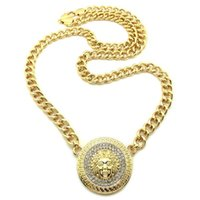 Wholesale New NEW ICED OUT PIECE PENDANT mm quot LINK CHAIN HIP HOP NECKLACE