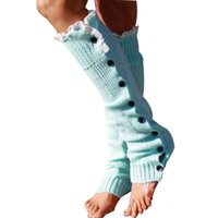 amazing winter boots - Amazing New Winter Women Crochet Long Knitted Button Leg Warmers Boot Sock Cover Lace Trim