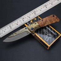 Wholesale folding knife Stainless steel A buck knife Camping knife cutting tools