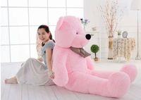 al por mayor grandes osos de peluche de color rosa-Big gigante gigante 55