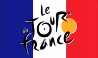 90*150 cm stage banners - Tour de France Flag x cm Polyester Biker Tour of France Multiple Stage Bicycle Race Banner