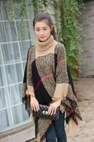 Cheap Fashion kimono Best 80cm-100cm Brown poncho