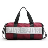 Wholesale 2016 New Women VS Love Pink Brand Fringe Handbags Large Capacity Travel Duffle Striped Waterproof Beach Bag Shoulder Bag