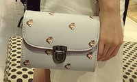 Wholesale 2016 Autumn New Trend Beautiful Fashion Chain Mini Lovely Pattern Mobile Phone Single Small Shoulder Bag