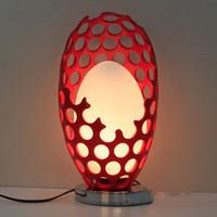Wholesale Hot New LED Rechargeable Desk Lamp Resin as the bird s nest egg Flexible Length Night Light LED V Reading Lamp for Student Eye Protection