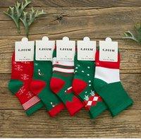 baby stripe legging - Children Christmas Scoks Stripe Heart Red Scok Good Quality Snowman Leg Warmers Baby Girls Boys Xmas Socks For Kids Gifts