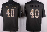 Wholesale 40 Pat Tillman salute jerseys