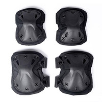Wholesale Tactical Knee Pads set Combat Airsoft Paintball Gear Hunting Equipment Elbow Protector