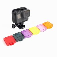 Wholesale Color Filter Protective Lens Cover colors For GoPro Hero Black Camera