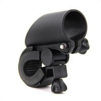 Wholesale Newest Barrel Cycling Grip Mount Bike Clamp Clip Bicycle Flashlight Bracket LED Flashlight Torch Sleeve Holder