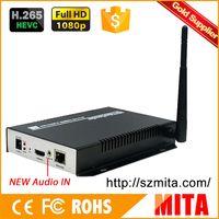 Wholesale DHL HDMI Encoder IPTV H H Hardware Encoder Wifi For Live Streaming