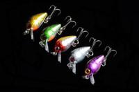 Wholesale 5pcs Fishing lures cm Fishing Bait Crankbait Color Fishing Tackle Hook