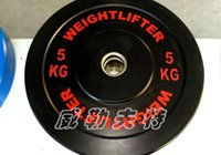 Wholesale weightlifter commercial cross fit high elastic rubber all weight plate lifting the squat international standards