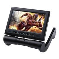 armrest dvd player - New Inch TFT LCD Car Video DVD Player Center Armrest Monitor Support Stereo SD USB IR FM Transmitter Game CD Controller