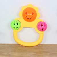 Wholesale Children s bell Sunflower bell Setting up exercise in kindergarten Child toys