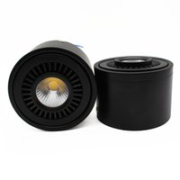 Wholesale KEVDA COB LED Downlights W W W W AC V Surface Mounted Knob Switch LED Downlights with Bulbs