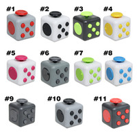 american retail - 2017 New Novelty Toys Fidget Cube the world s first American decompression anxiety Toys with Retail Box DHL