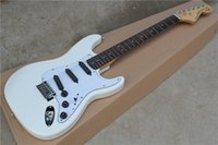 big musical instruments - New Top Quality musical instrument Scalloped rosewood Fingerboard Big Head ST Electric Guitar White