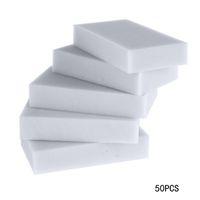 Wholesale 50pcs Multi functional Magic Melamine Sponge Eraser Cleaner Cleaning Sponges Kitchen Bathroom Sponge