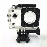 Wholesale Sports Action Camera Parts Housing For SJ4000 F60 F60R Model go pro Accessories Waterproof shell Helmet Case