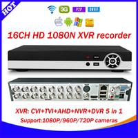 Wholesale Hot CH N XVR CVI TVI AHD NVR DVR in CCTV Video Recorder Onvif Network Channel IP NVR P P2P cloud xmeye