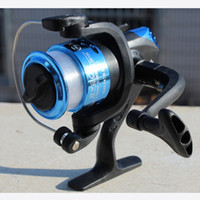 Wholesale Fishing Reals Aluminum Body Spinning Reel High Speed G Ratio Fishing Reels with Line Copper rod rack drive Fish Tools Accessories