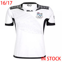 alternative shorts - 2016 Fiji Rugby Jersey White maillot Maglia Adults Men alternative shirts Size S XL In Stock