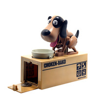 Wholesale Robotic Dog Banco Canino Money Box Money Bank Automatic Stole Coin Piggy Bank Money Saving Box Moneybox Gifts For Kid